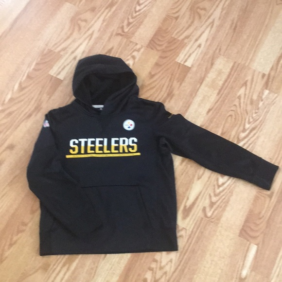 reputable site c7944 93574 Youth Pittsburgh Steelers hoodie by NFL Nike